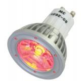 Lampe à LED 1 x 3 W, ROUGE, 230 V~
