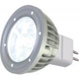 Lampe à LED, 1 x 3 W, BLANCHE, 12 V