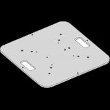Embase lourde carrée 80 cm