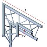 Angle 2 départs triangulaire 45°