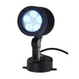 Spot à LEDs, en aluminium, 10 W, RGB