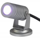 Spot à LED en aluminium avec support de fixation