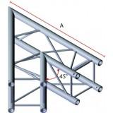 Angle 2 départs 45° pour structure carrée