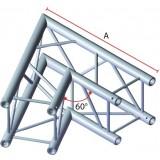 Angle 2 départs 60° pour structure carrée
