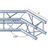 Angle 2 départs 135° pour structure carrée