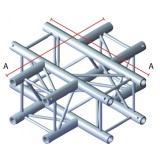 Angle 4 départs 90° pour structure carrée