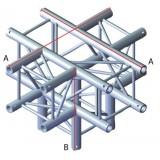 Angle 5 départs 90° pour structure carrée