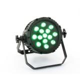 PAR 64 à LEDs, 14 x 10 W, RGBW IP65, beam 40°