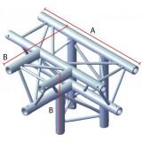 Angle 4 départs triangulaire 90°