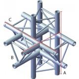 Angle 5 départs triangulaire 90°