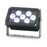 Projecteur à LEDs, compact, RGB 3en1 IP65 21W